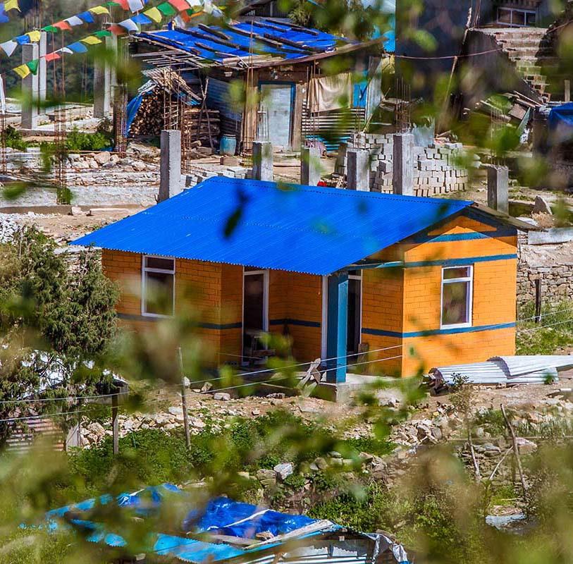 Affordable housing using CSEB Machine