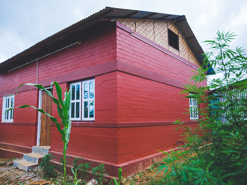 Eco-friendly house in Nepal