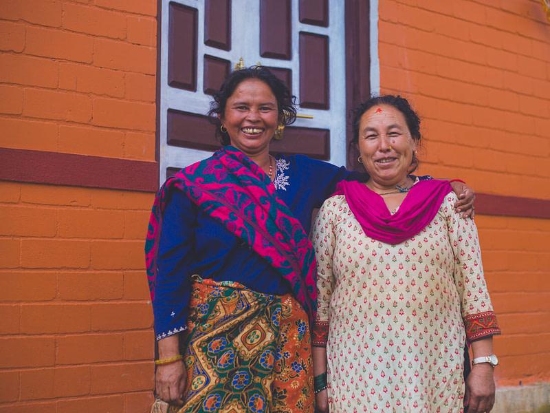 Interlocking Brick CSEB house nepal